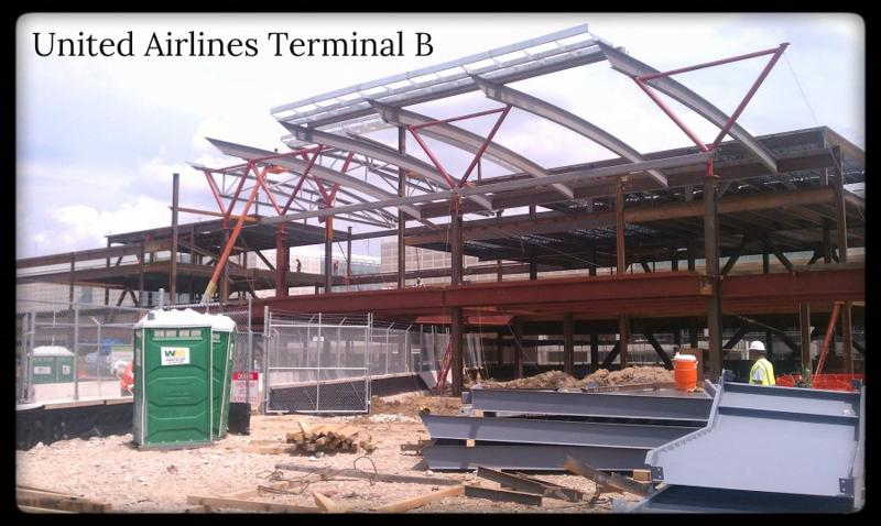 United Airlines Terminal B